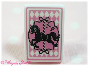 Angelic Pretty Trump Carnival Ring Pink