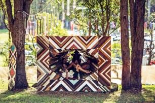 Lost Paradise Festival installation