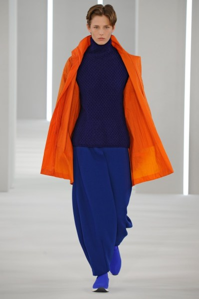 Jasper Conran - ORANGE AND NAVY AW18