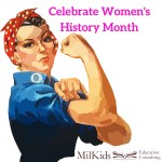 The History of Women's History Month and PCSing with Kids
