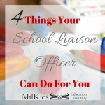 What The School Liaison Officer Can Do For You