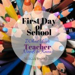 6 Things Teachers Need to Know on Day 1