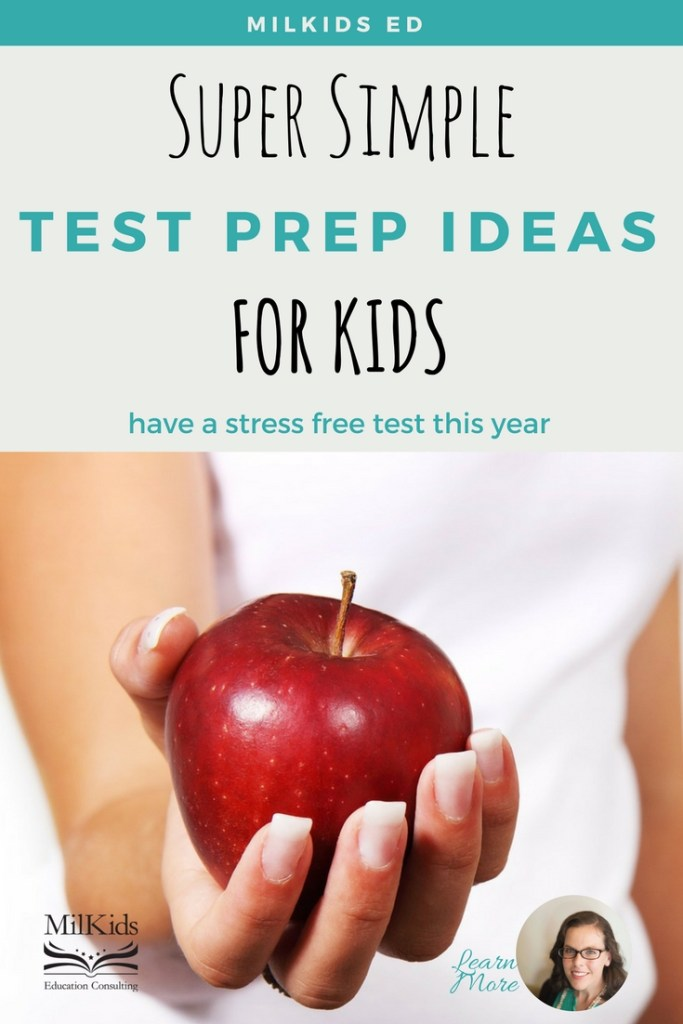 Learn simple ways to help your child test prep without stress for more success!