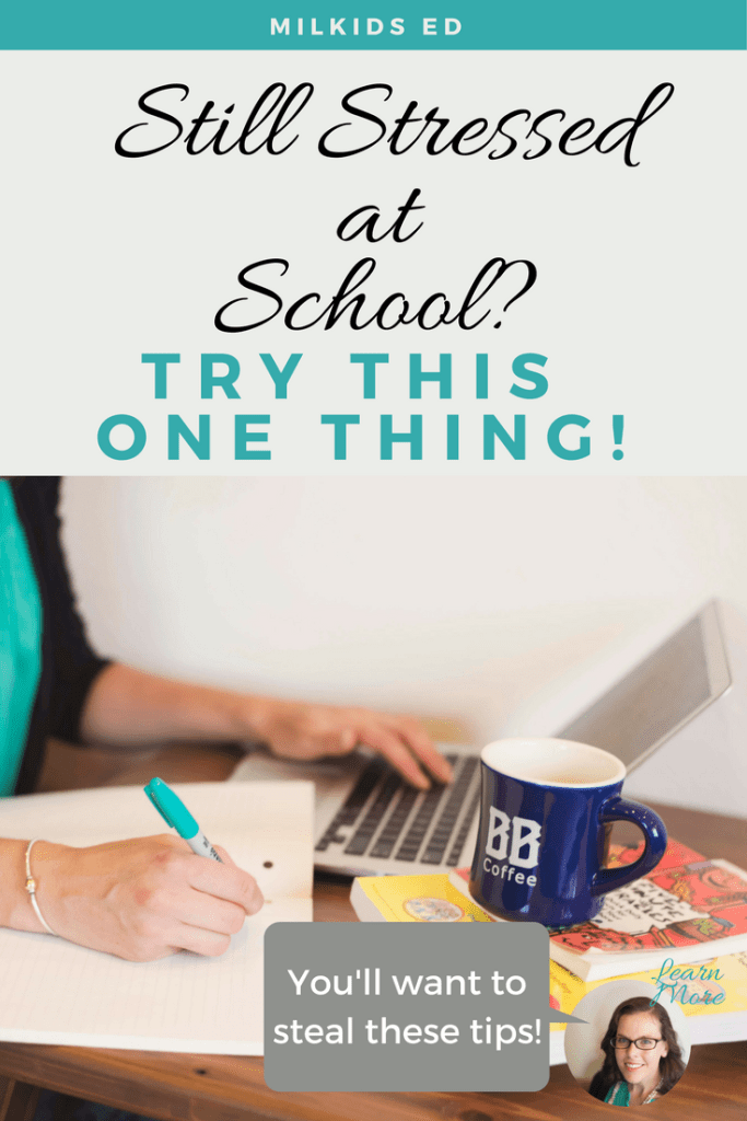 If you're stressed at school and not connecting with the teacher, it's time to start fresh. Use this simple trick to help you totally make-over your parent-teacher relationship! | Meg Flanagan, MilKids Ed | Making the K-12 Journey Easier