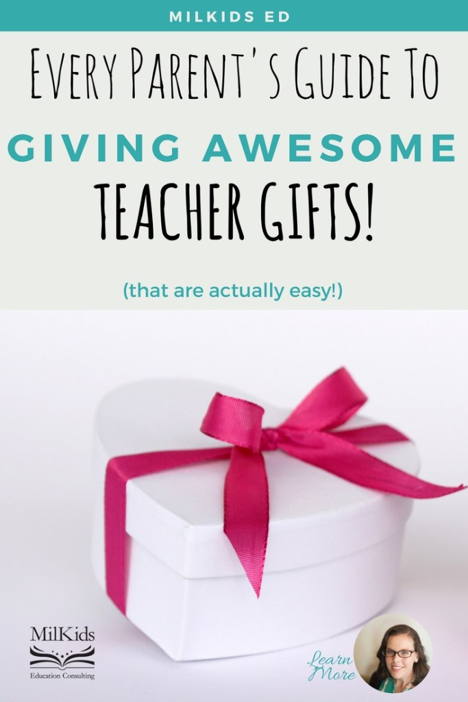 Give the best teacher gifts this school year with these easy teacher approved ideas!