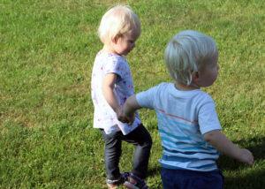 Kids on Grandpa's Farm