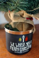 Holiday Candle Decor
