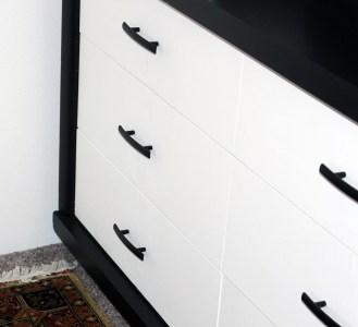 Guest Bedroom Dresser - Details