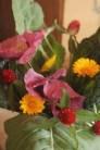 collards and kale floral arrangement
