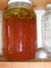 Finished Sacred Basil Honey