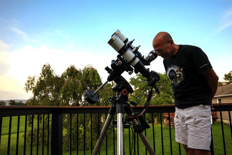 Detterline Eclipse setup