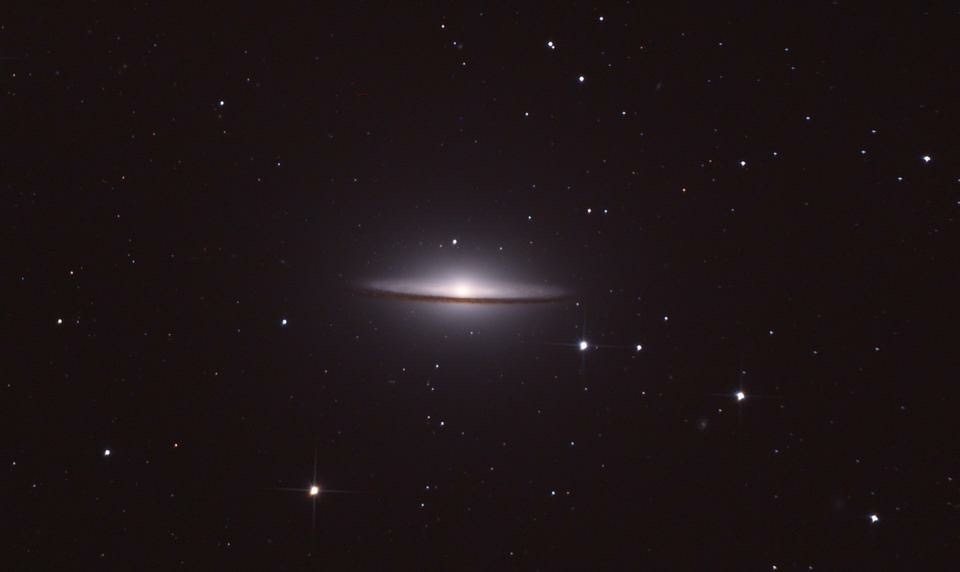 Sombrero Galaxy @Space_Samuel