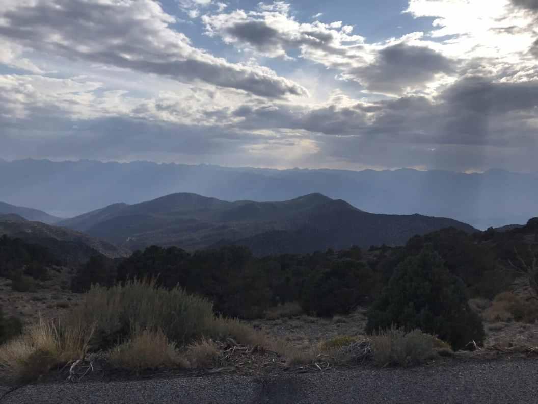 Alabama Hills and Clouds.
