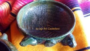 artigianato messicano: terrina per guacamole