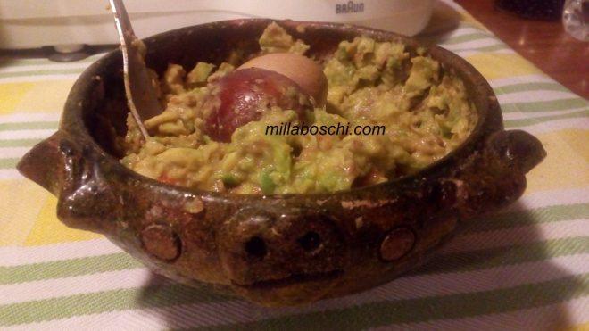 guacamole messicano