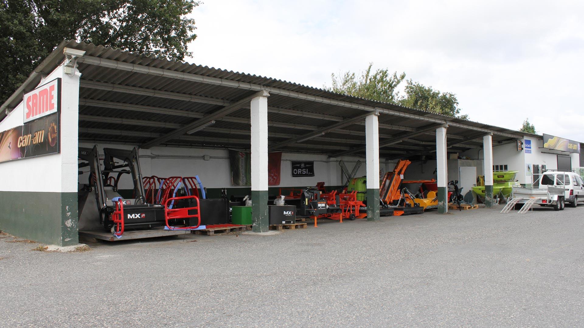 Garajes de almacenamiento de maquinaria agrícola Millares Torrón en Lugo