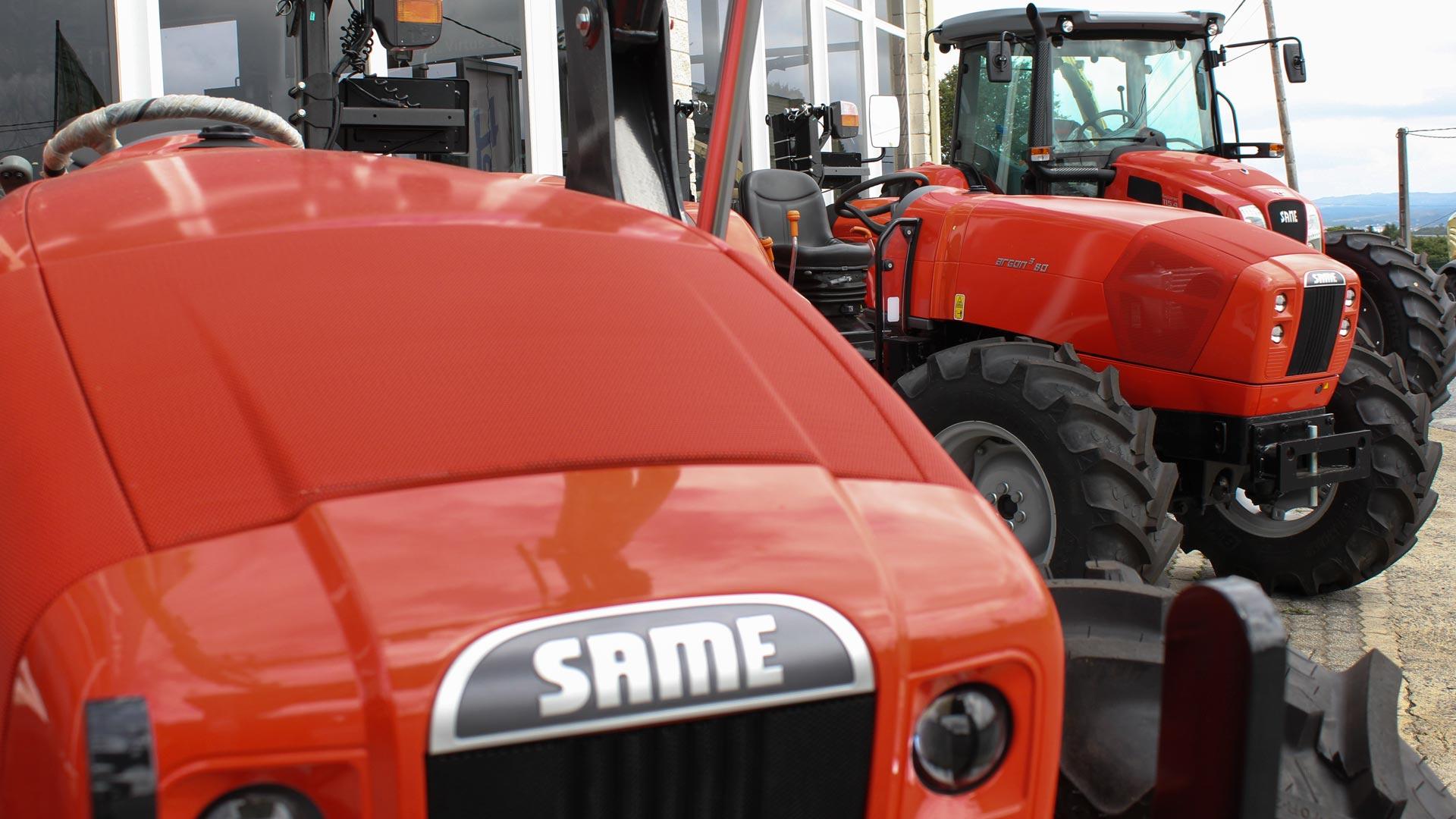 Tractores y maquinaria agrícola millares Torrón en Lugo