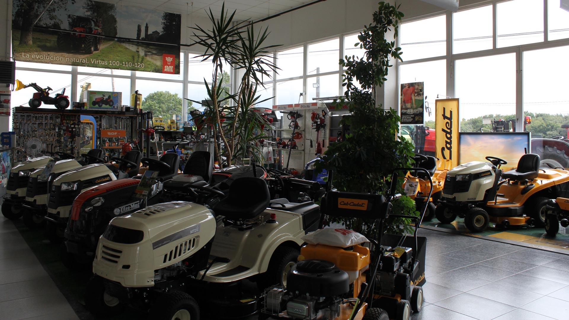 Maquinaria agrícola Millares Torrón en Lugo