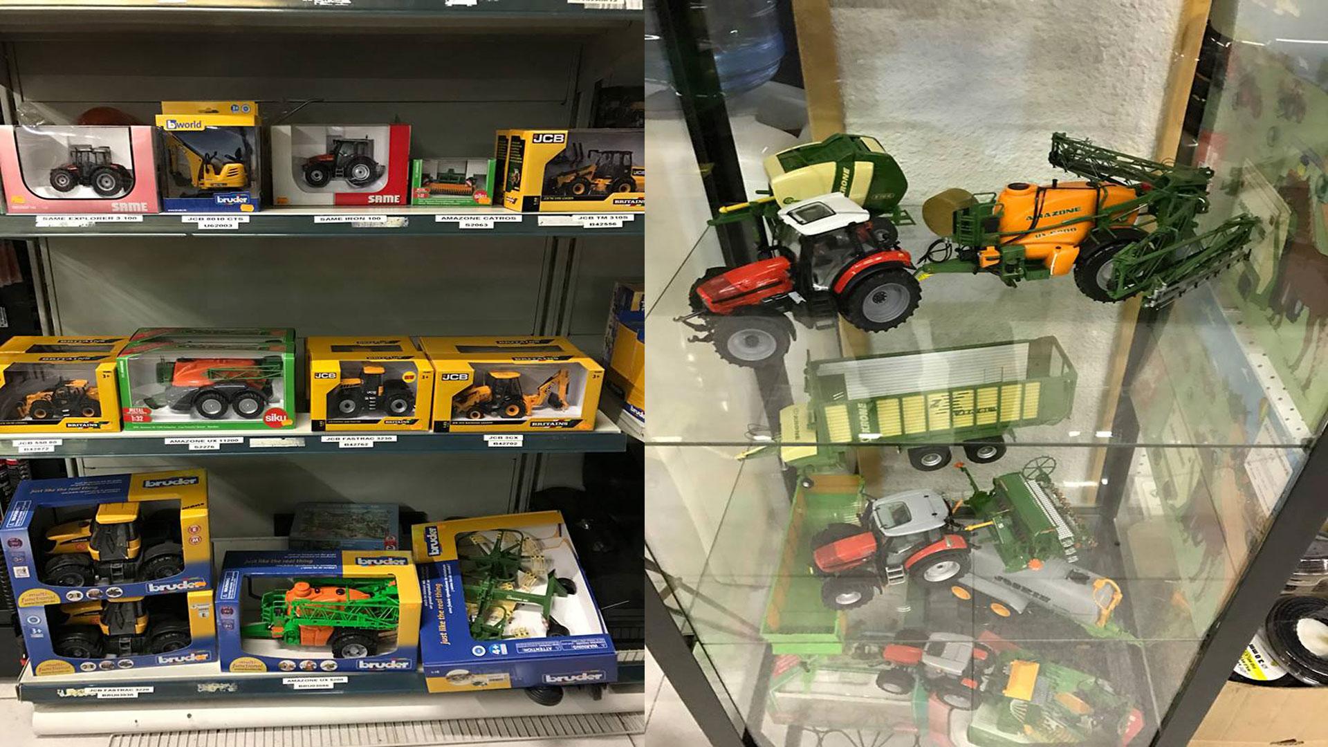 Tractores a escala