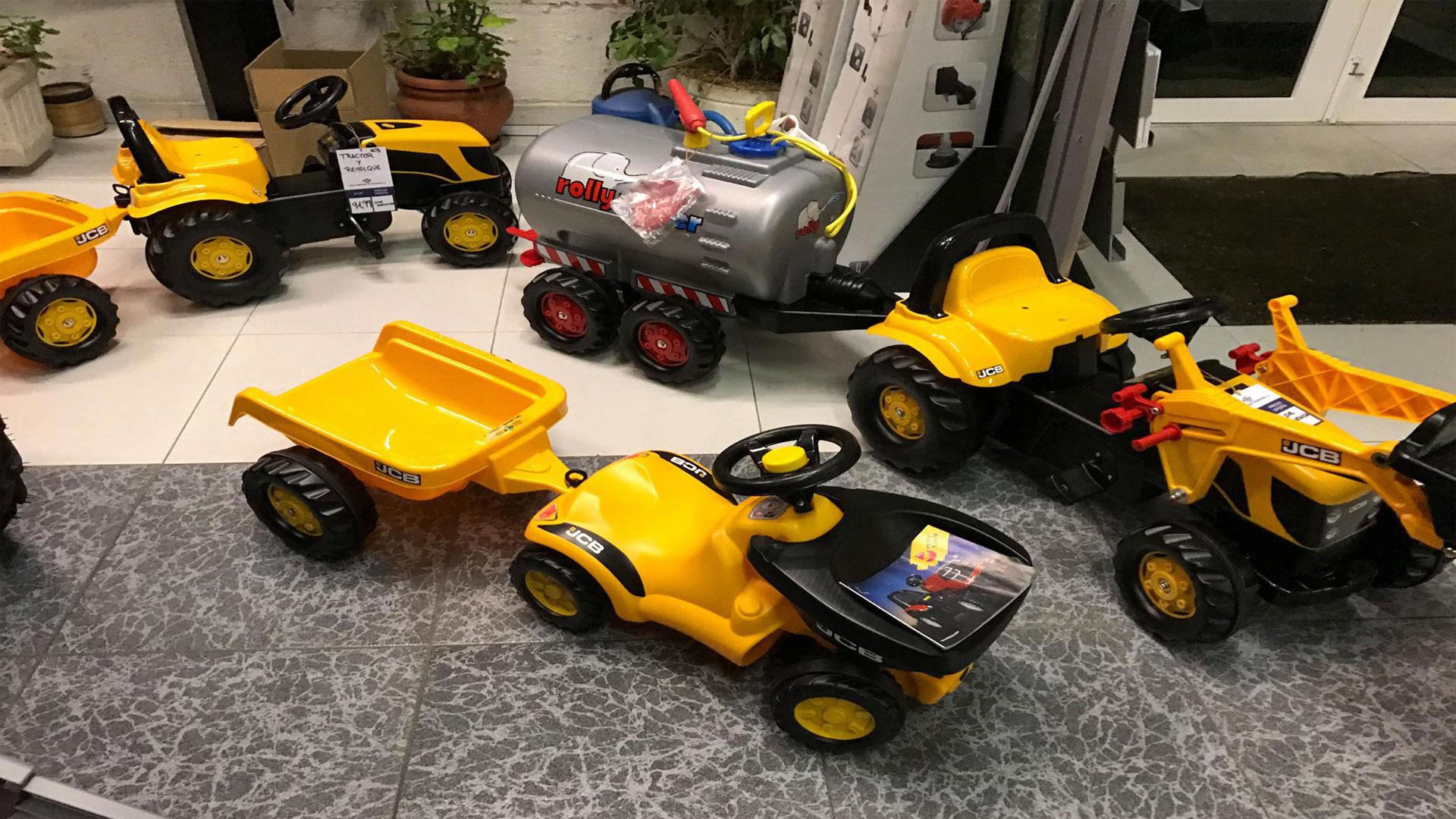 tractores de juguete para niños en lugo