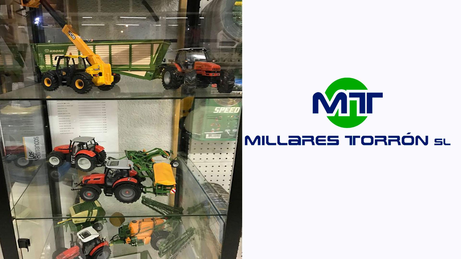 Exposición tractores miniaturas