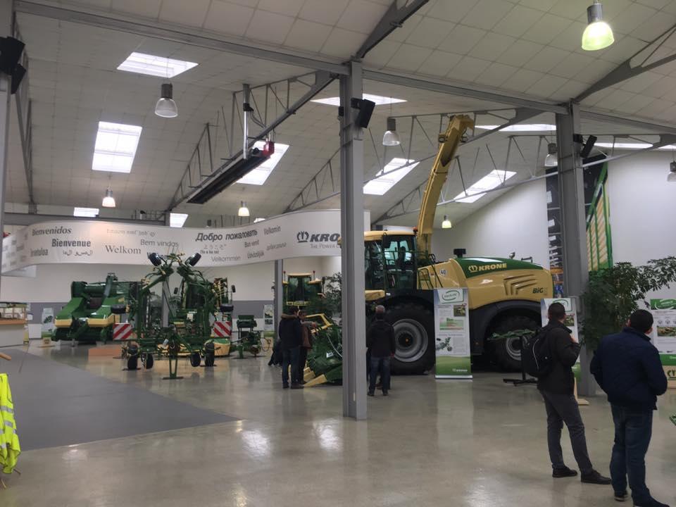 Feria de Agricultura, Maquinaria agrícola y Jardinería KRONE