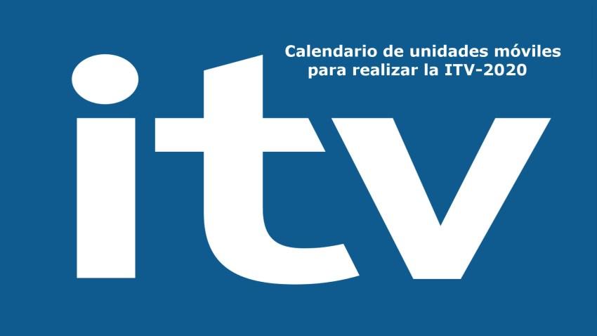 Calendario de unidades móviles para realizar la ITV-2020 portada-1920