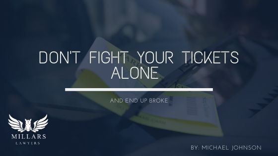 Don't Fight Your Tickets Alone (And End Up Broke)