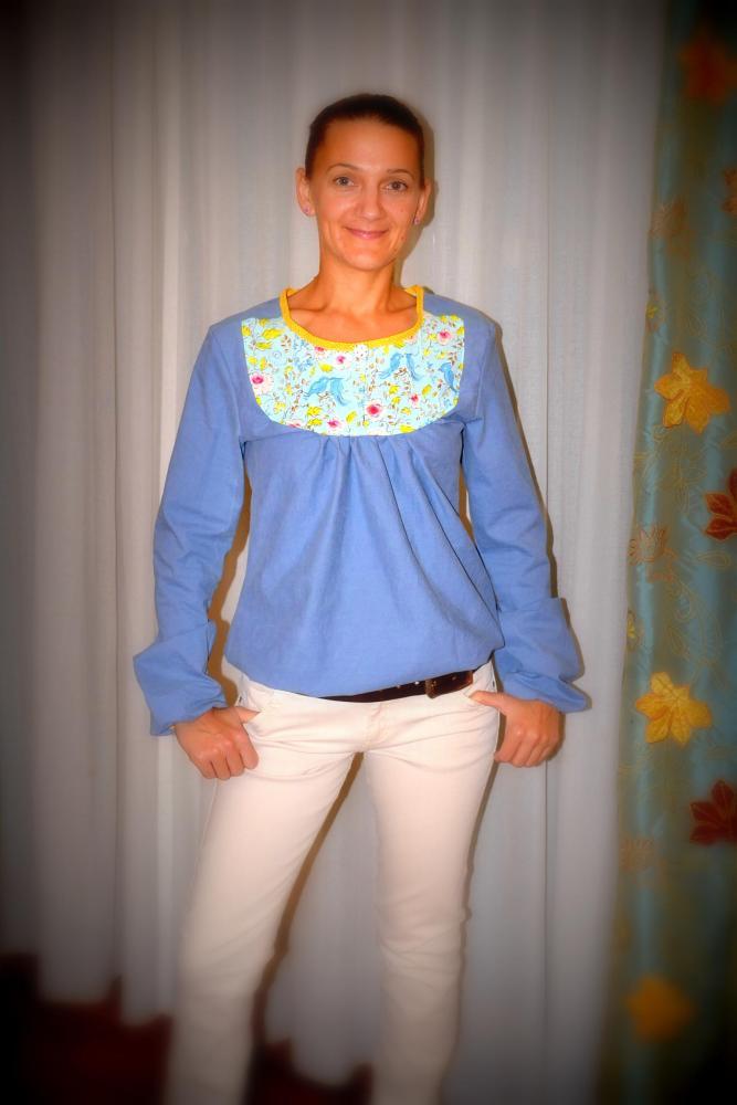 Jeans-Tunika MAmina von Ki-ba-doo (2/5)