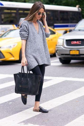 Oversized Sweater Inspo - Millay Blog