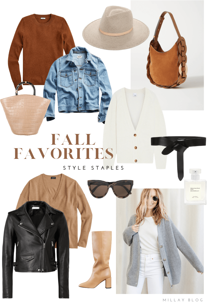 Fall Style Favorites - Millay Blog