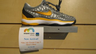 New Nike Air Zoom Cage 3 ($138.00) Rafael Nadal's shoe of choice!