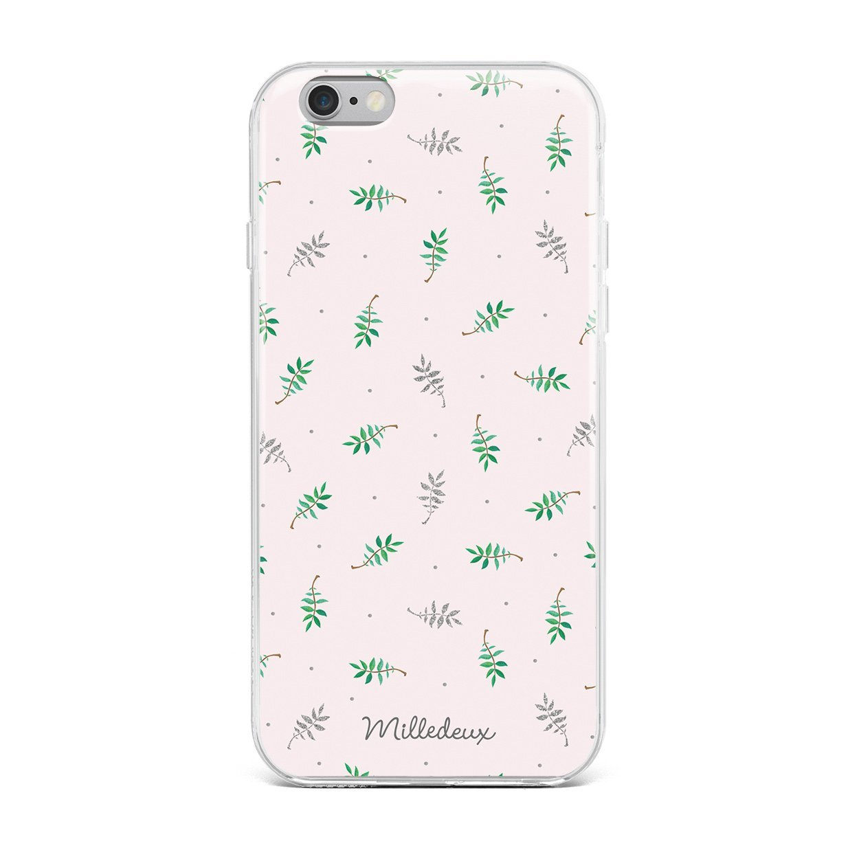 Milledeux Iphone Cover 6 6s 7 8 Plus Glitter Pattern