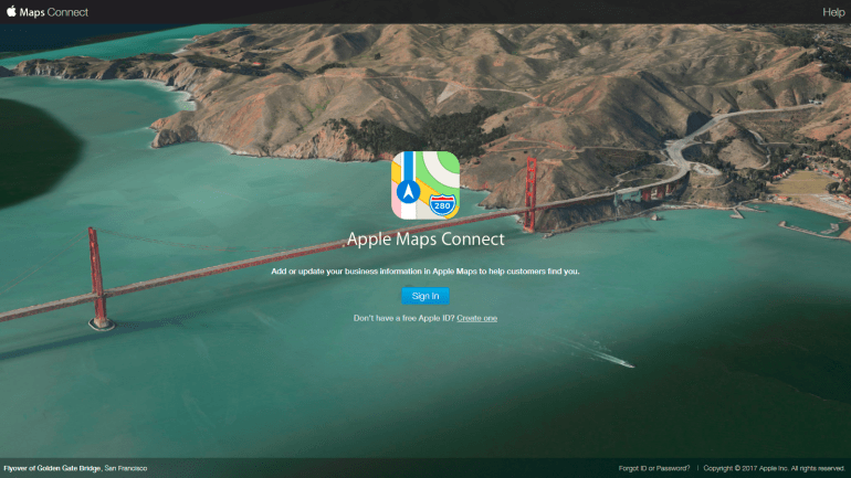 Maps Connect - Acceuil
