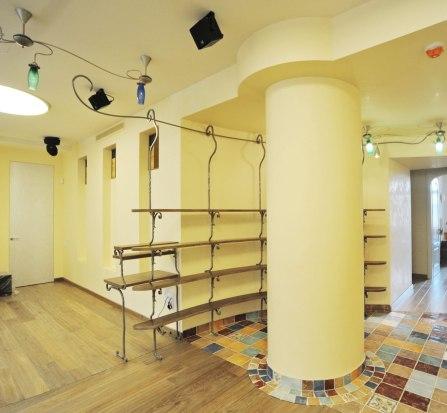 Дизайн интерьера квартиры. Стеллажи