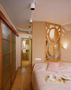 Дизайн интерьера квартиры. Спальня