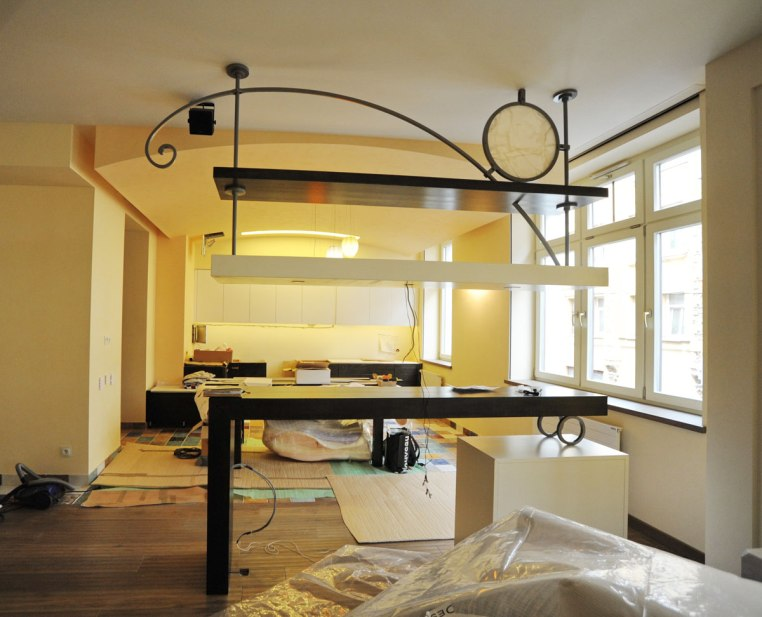 Дизайн интерьера квартиры. Барная стойка