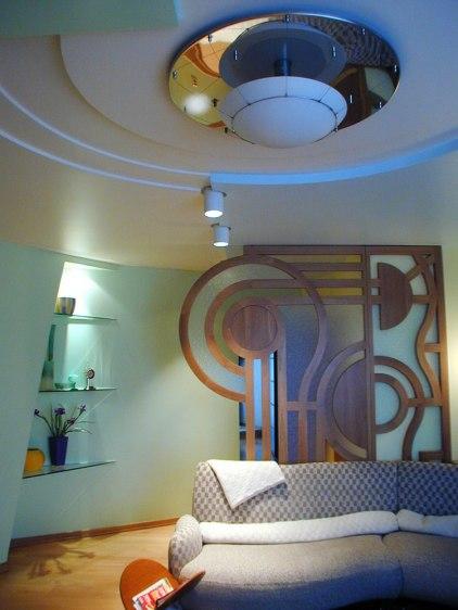 Дизайн интерьера квартиры. Часть гостиной