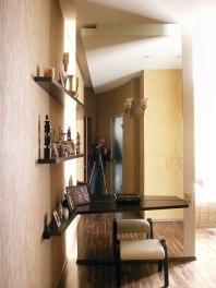 Дизайн интерьера пентхауса. Спальня