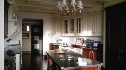 Дизайн интерьера в английском стиле. Кухня