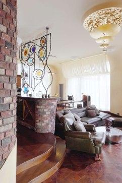 Дизайн интерьера квартиры в стиле Гауди