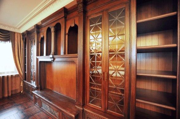 Дизайн интерьера в английском стиле. Фрагмент гостиной
