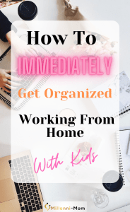 desk organization working woman