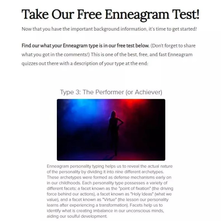 Enneagram Test Results from LonerWolf
