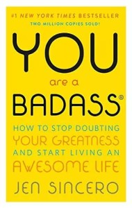 personal development books - you are a badass book cover