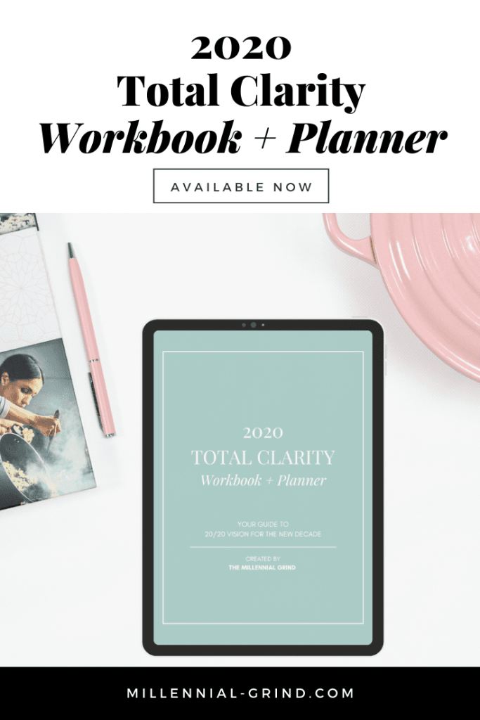 2020 Total Clarity Workbook and Planner Pin