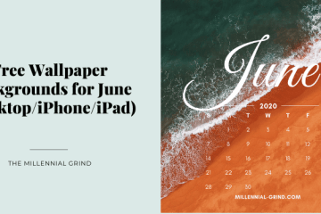 Free Wallpaper Backgrounds for June (DesktopiPhoneiPad)