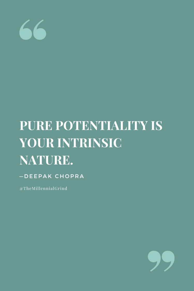 Quotes on The Law of Pure Potentiality; The Seven Spiritual Laws of Success Quotes
