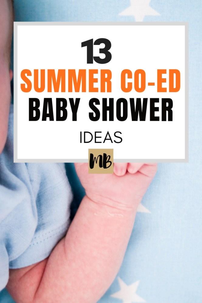 13 Summer Co Ed Baby Shower Ideas