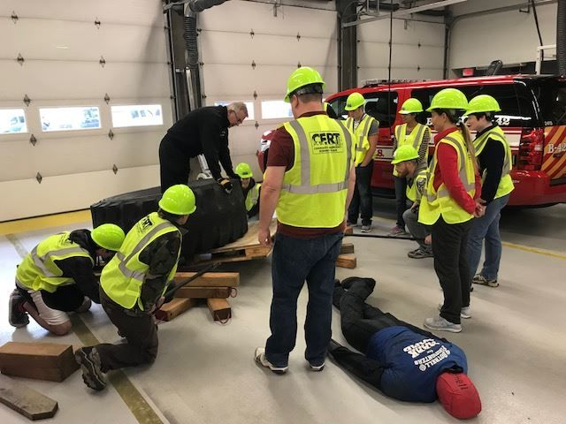 A great way to get (free!) theoretical and hands-on training is to attend a CERT (Community Emergency Response Team) Training Course in your area. It's simply a two day course with no commitment whatsoever, normally given by Firefighters or other such professionals.